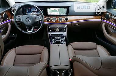 Седан Mercedes-Benz E 220 2016 в Львове