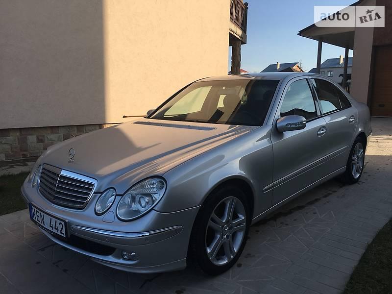 Mercedes-Benz E 270 2002 в Чорткове