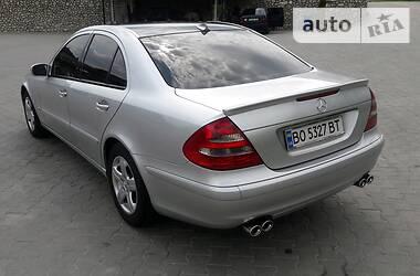 Mercedes-Benz E 270 2002 в Тернополе