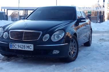 Mercedes-Benz E 270 2002 в Львове