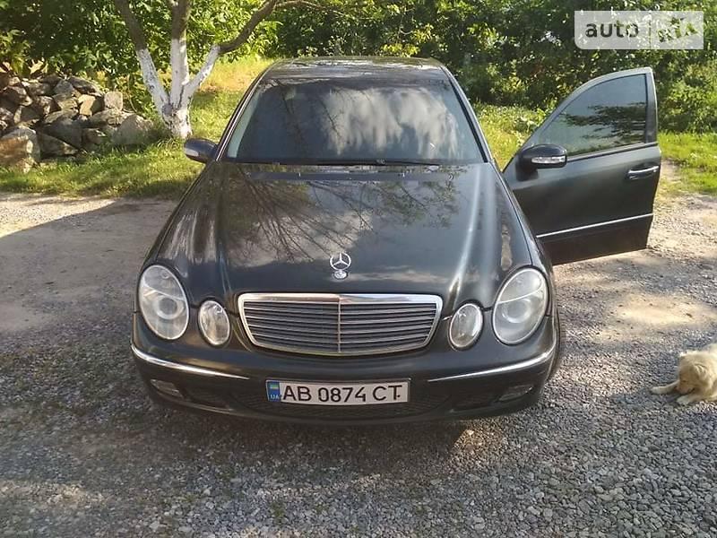 Седан Mercedes-Benz E 270 2002 в Хмельнике