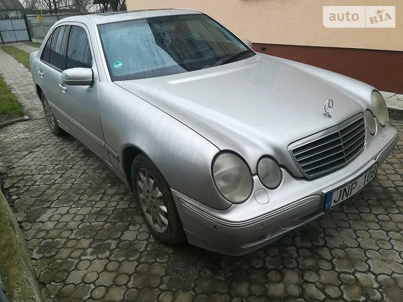 Mercedes E-Class 2002 года в Луцке