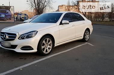 Седан Mercedes-Benz E 350 2014 в Киеве