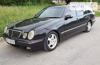 Mercedes-Benz E-Class All-Terrain 2000
