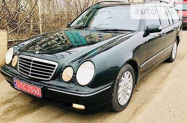 Mercedes-Benz E-Class  Avantgard 2001