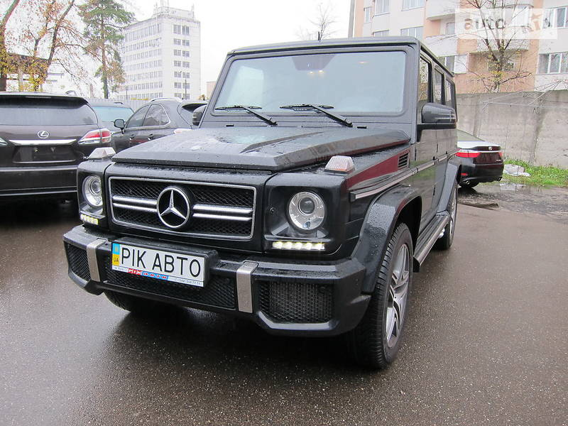 Mercedes-Benz G 63 AMG 2018 в Киеве