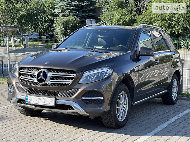 Внедорожник / Кроссовер Mercedes-Benz GLE 250 2016 в Львове