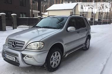 Mercedes-Benz ML 270 2001 в Шаргороде