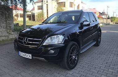 Mercedes-Benz ML 320 2009 в Черновцах
