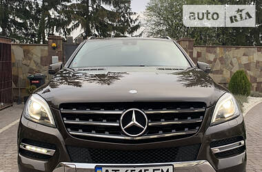 Mercedes-Benz ML 350 2015 в Ивано-Франковске
