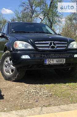 Позашляховик / Кросовер Mercedes-Benz ML 400 2002 в Тячеві