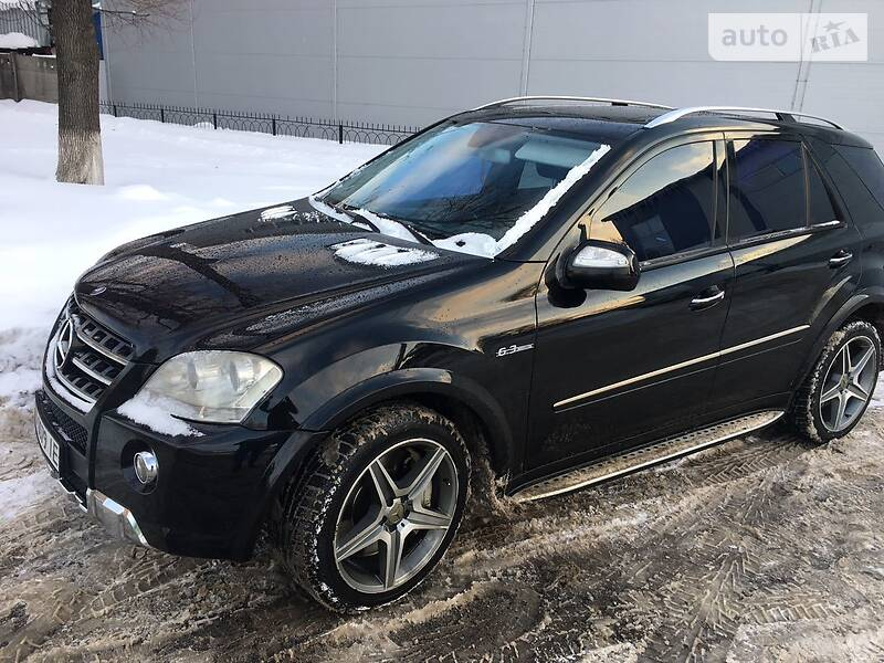 Mercedes-Benz ML 63 AMG 2008 в Полтаве