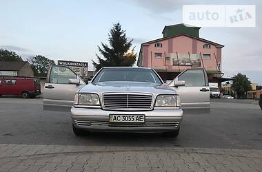 Mercedes-Benz S 140 1996 в Луцке