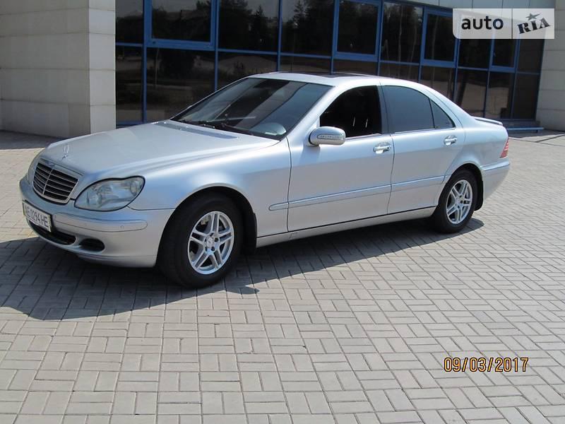 Mercedes S-Class 2003 года в Донецке