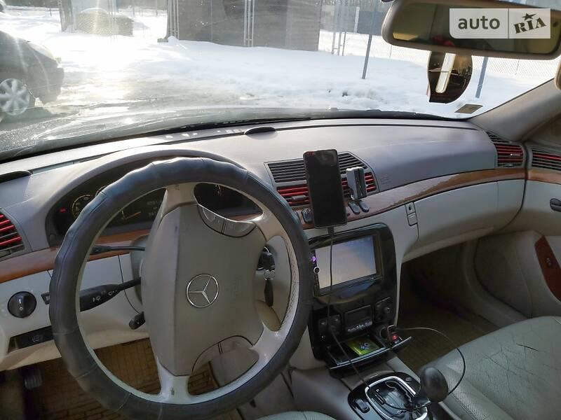 Mercedes-Benz S 320 2000 в Ивано-Франковске