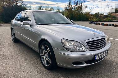 Mercedes-Benz S 500 2003 в Черновцах