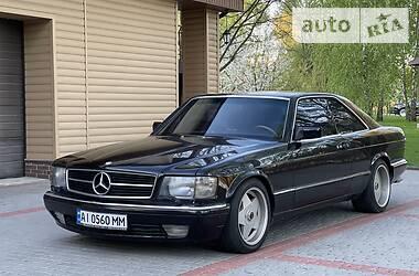 Купе Mercedes-Benz S 560 1987 в Киеве