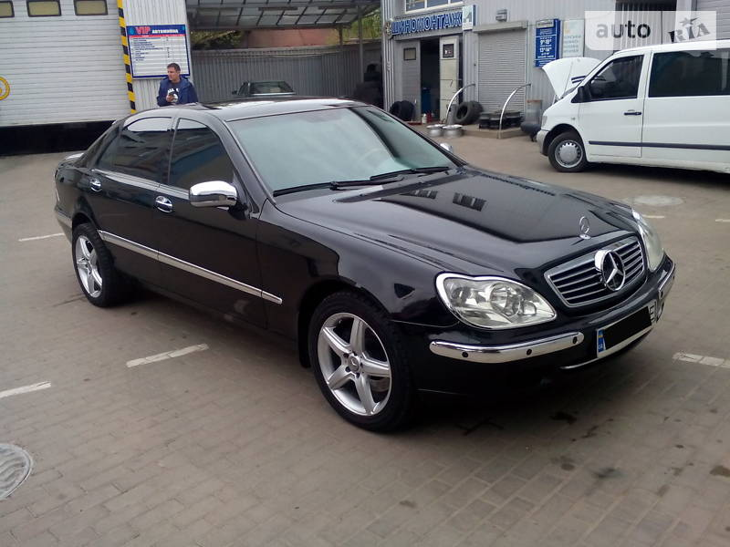 Mercedes-Benz S 600 2001 в Ровно