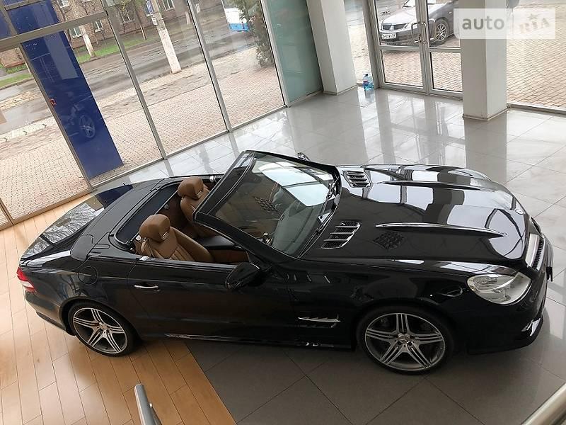 Кабриолет Mercedes-Benz SL 500 2008 в Киеве