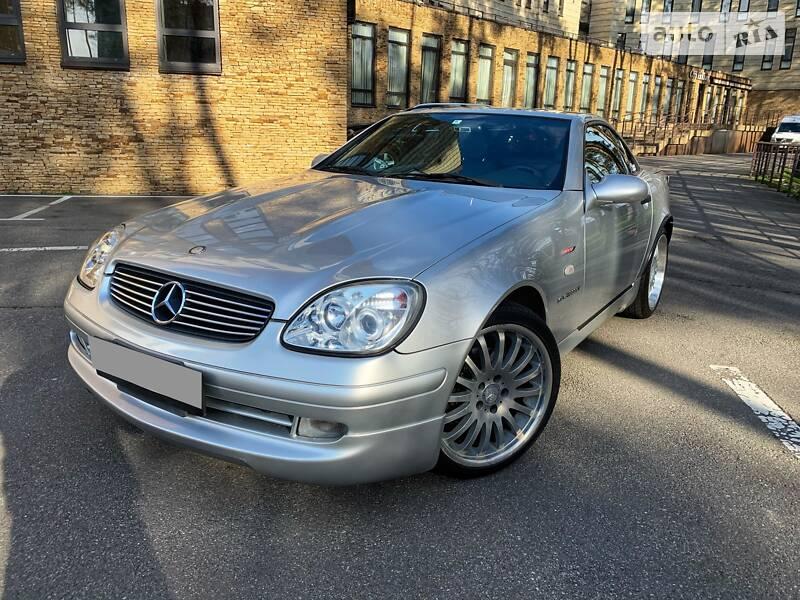 Кабріолет Mercedes-Benz SLK 230 2000 в Києві