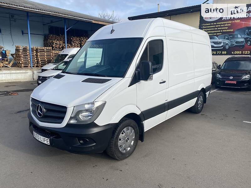 Mercedes-Benz Sprinter 316 груз. 2017 в Луцке