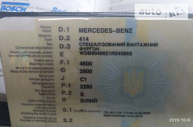 Mercedes-Benz Sprinter 414 груз. 2003 в Житомире