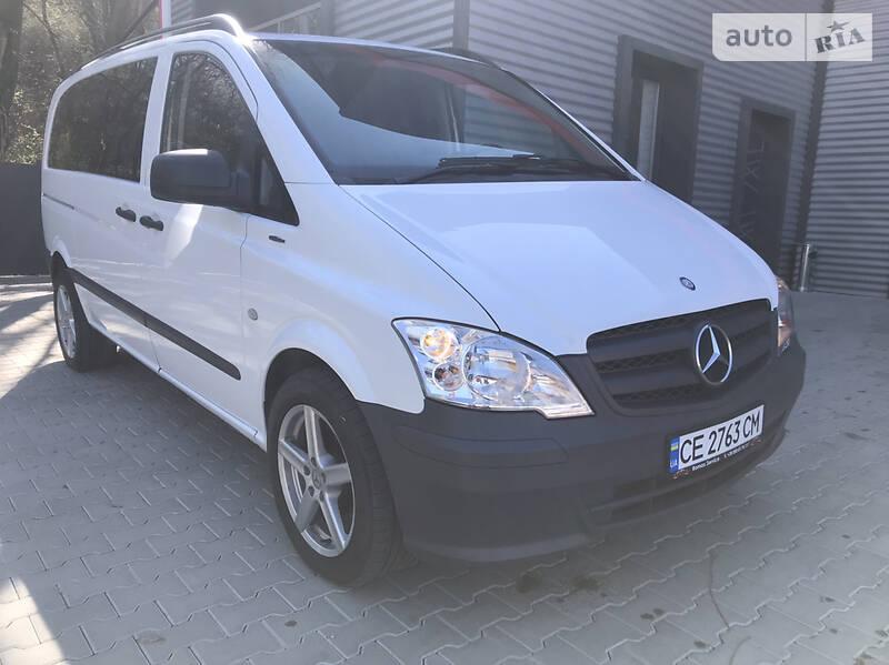 Мінівен Mercedes-Benz Vito 113 2013 в Чернівцях