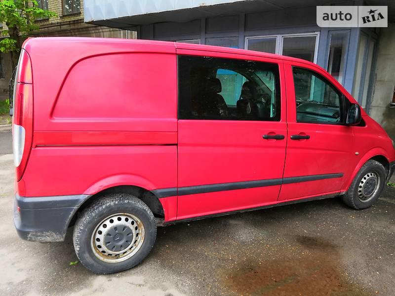 Легковий фургон (до 1,5т) Mercedes-Benz Vito груз.-пасс. 2006 в Харкові