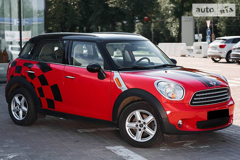 MINI Countryman 2013 года в Львове