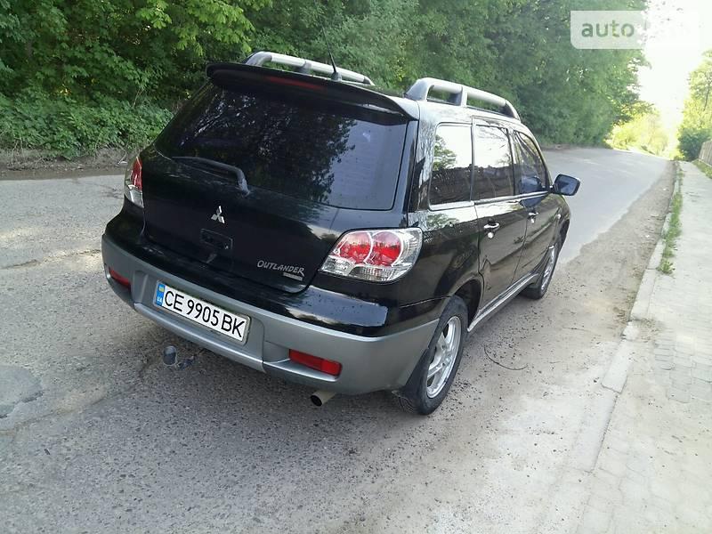 Mitsubishi Outlander 2003 в Черновцах