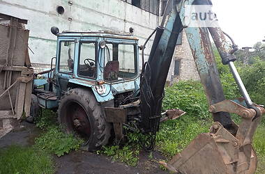 Экскаватор погрузчик МТЗ 082 1990 в Черновцах