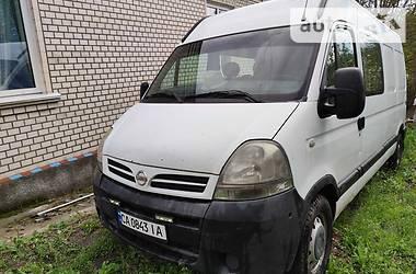 Легковой фургон (до 1,5 т) Nissan Interstar 2006 в Корсуне-Шевченковском