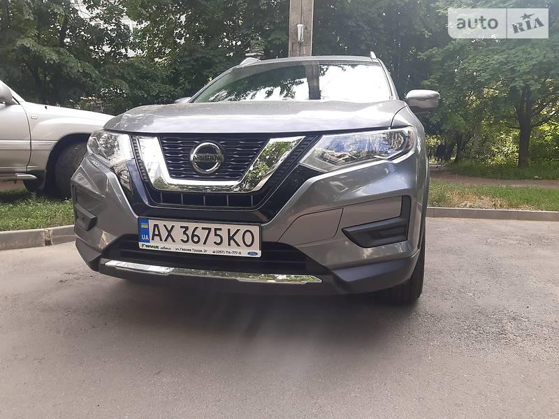 Позашляховик / Кросовер Nissan Rogue 2018 в Харкові