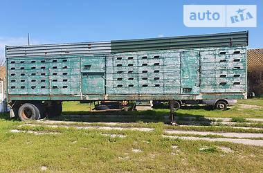 Для перевозки животных - полуприцеп ОДАЗ 9958 1990 в Херсоне