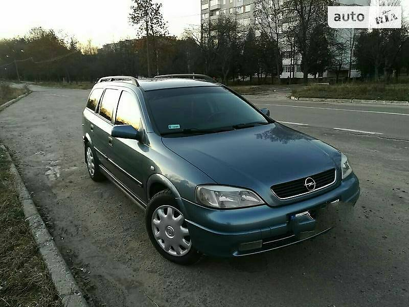 Унiверсал Opel Astra G 1999 в Новояворівську