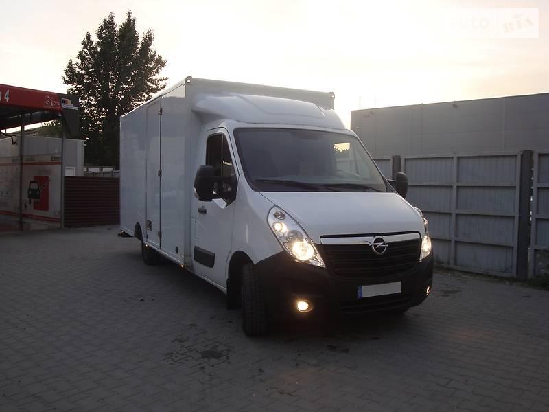 Легковий фургон (до 1,5т) Opel Movano груз. 2017 в Львові