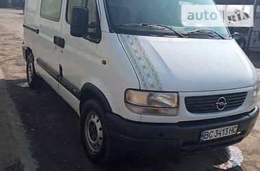 Opel Movano груз. 2003 в Стрые