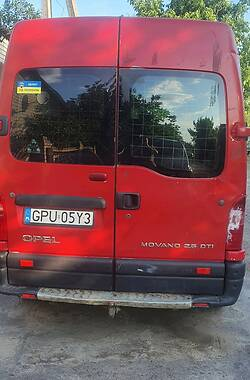Мікроавтобус вантажний (до 3,5т) Opel Movano груз. 2003 в Вінниці