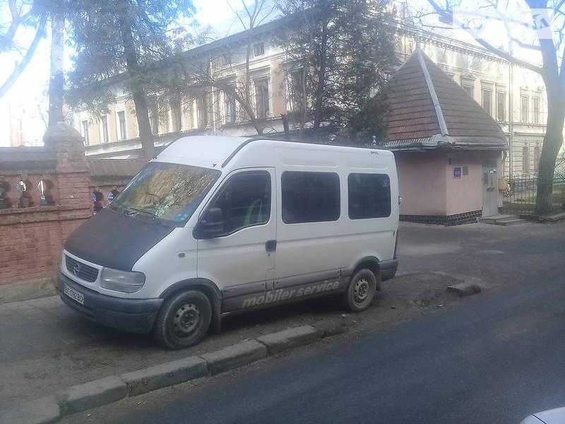 Opel Movano пасс. 2003 в Львове