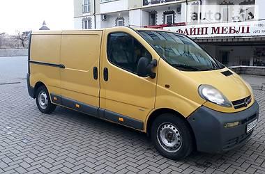 Opel Vivaro груз. 2002 в Сокале