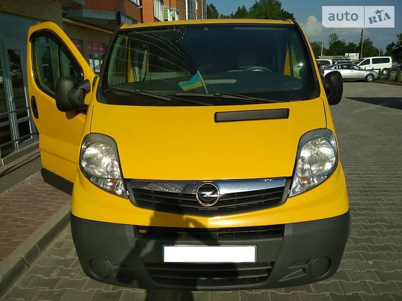 Opel Vivaro пасс. 2008 в Тернополе