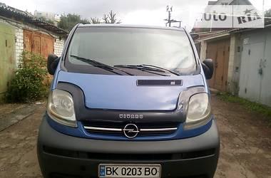 Opel Vivaro пасс. 2003 в Житомире