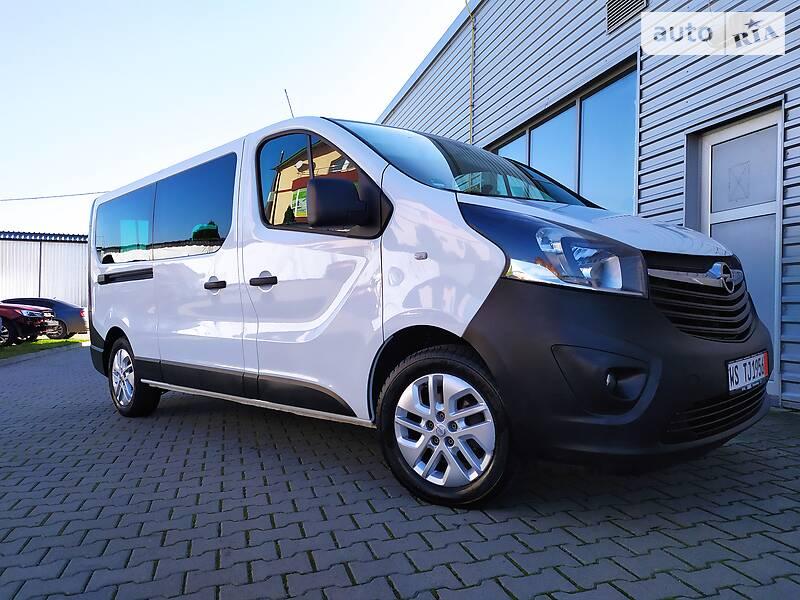 Opel Vivaro пасс. Passenger Long