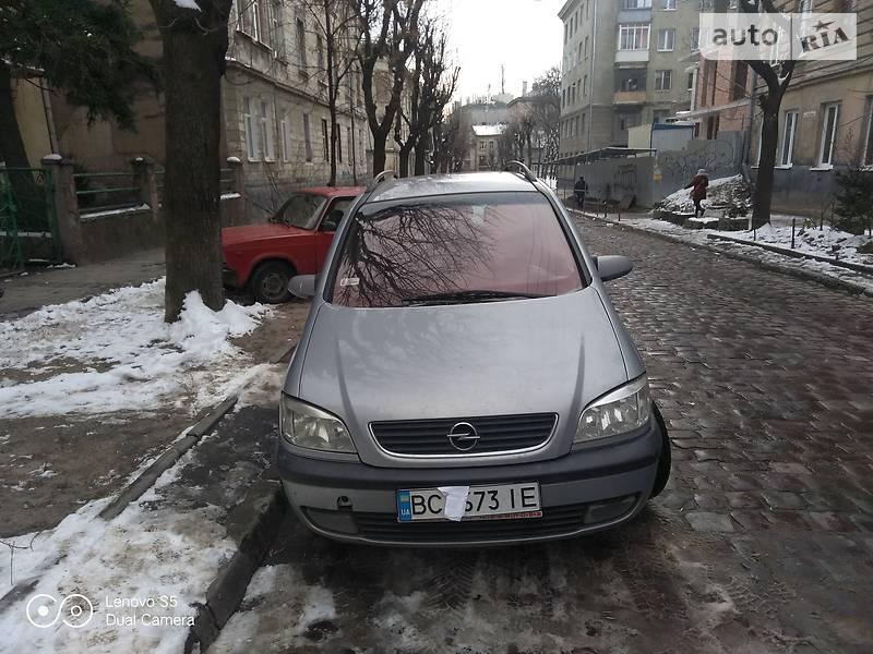 Opel Zafira 2001 в Львове