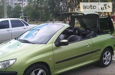 Кабриолет Peugeot 206 СС 2002 в Львове