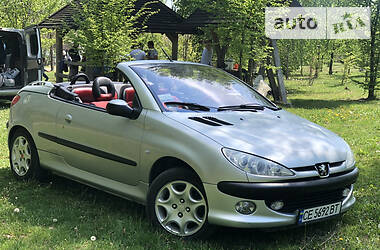 Peugeot 206 СС 2002 в Черновцах