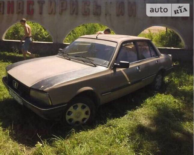 Peugeot 505 1986 в Трускавці