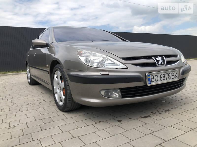 Седан Peugeot 607 2003 в Козові