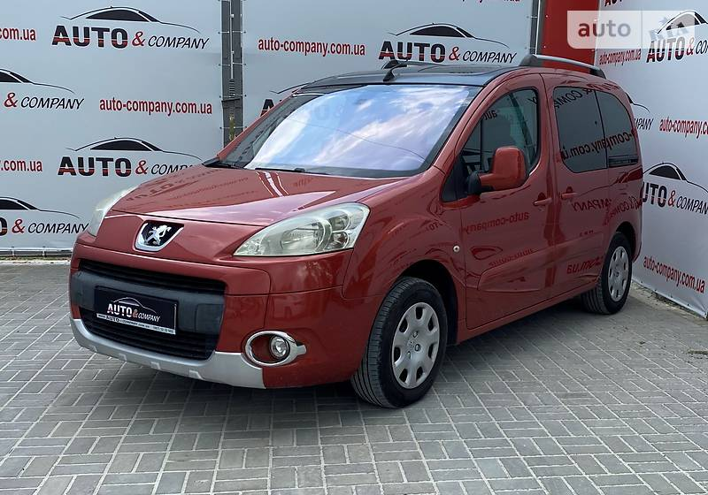 Мінівен Peugeot Partner пасс. 2009 в Львові