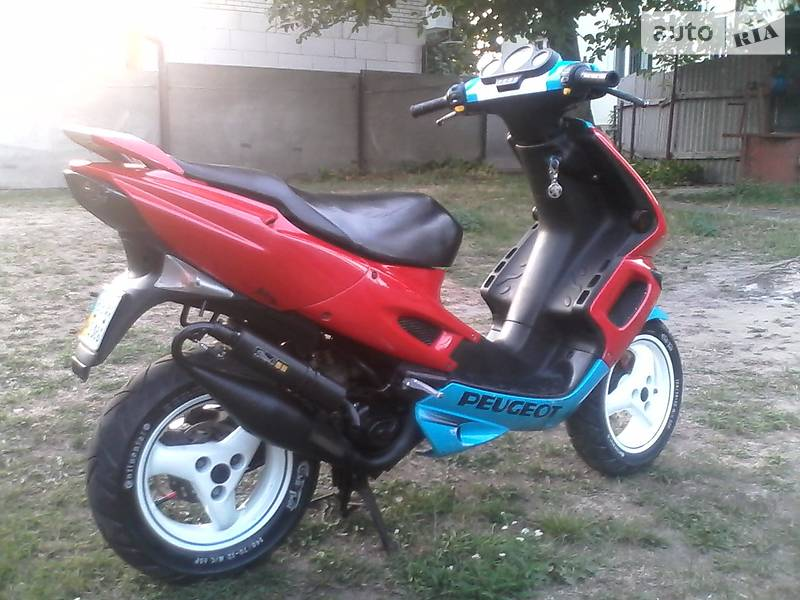 двигатель peugeot speedfight 2 100cc